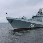 Újabb orosz hadihajó tart Szíriába