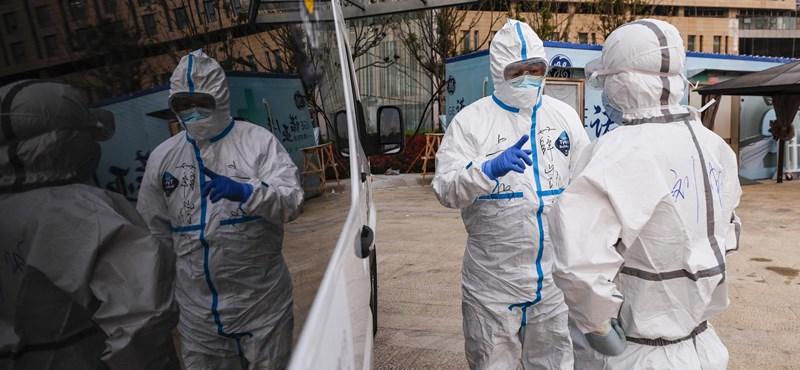 Magyarországról behurcolt fertőzéseket jelentettek Kínában