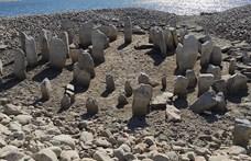 Olyan forró volt a nyár, hogy felbukkant a víz alól a spanyol Stonehenge