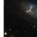 """Fotó: """"lötyögő"""" kékes spirálkarokat kapott le a Hubble"""