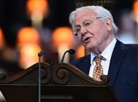 David Attenborough megkongatta a vészharangot, hamarosan egymillió faj halhat ki