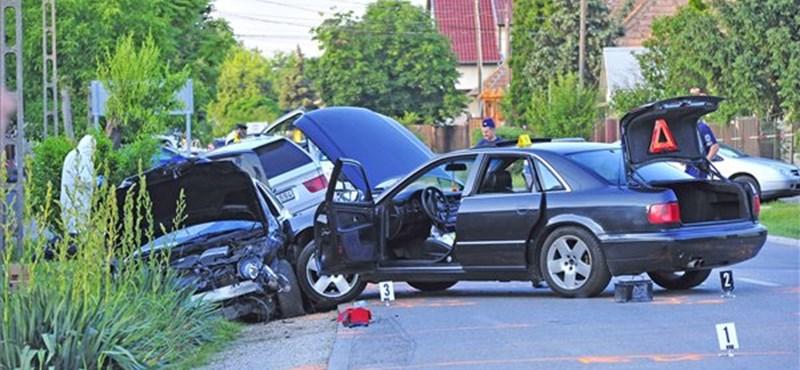 Autós üldözés Gyálon - még keresik a tetteseket
