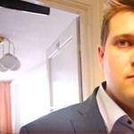 Így magyarázkodott 5 percen át az újságíró-inzultálással vádolt Szabó László – videó