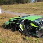 Egyetemi baleset: Lambo csattant Nissan GT-R-rel, két halott - fotók
