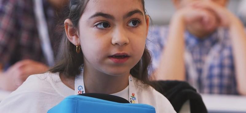 Egy 6 éves kislány nyerte a Google 8+13 millió forintos ösztöndíját