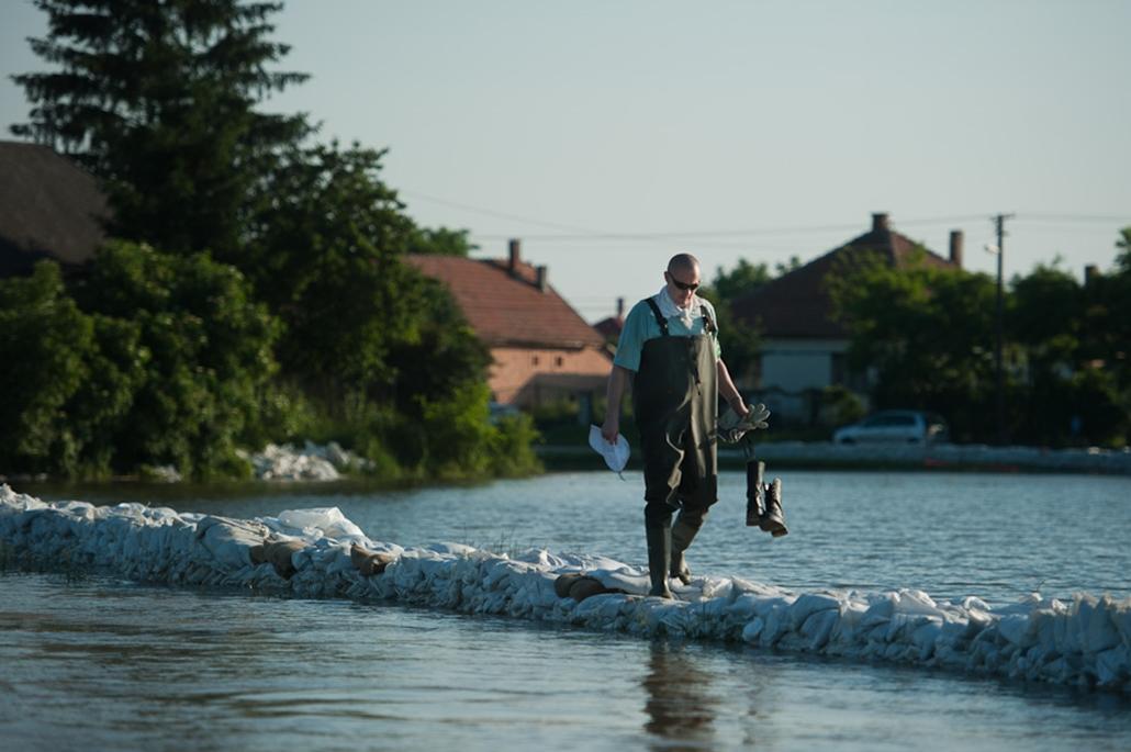 árvíz nagyítás Ónod