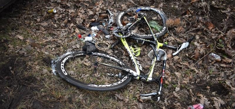 Három biciklist sodort el egy vélhetően ittas autós a Bakonyban
