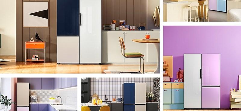 Igen mutatós hűtőket hoz be a hazai piacra a Samsung