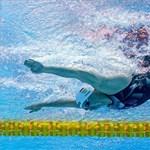 Budapesten az új úszóverseny-sorozat, Hosszúék harmadikok