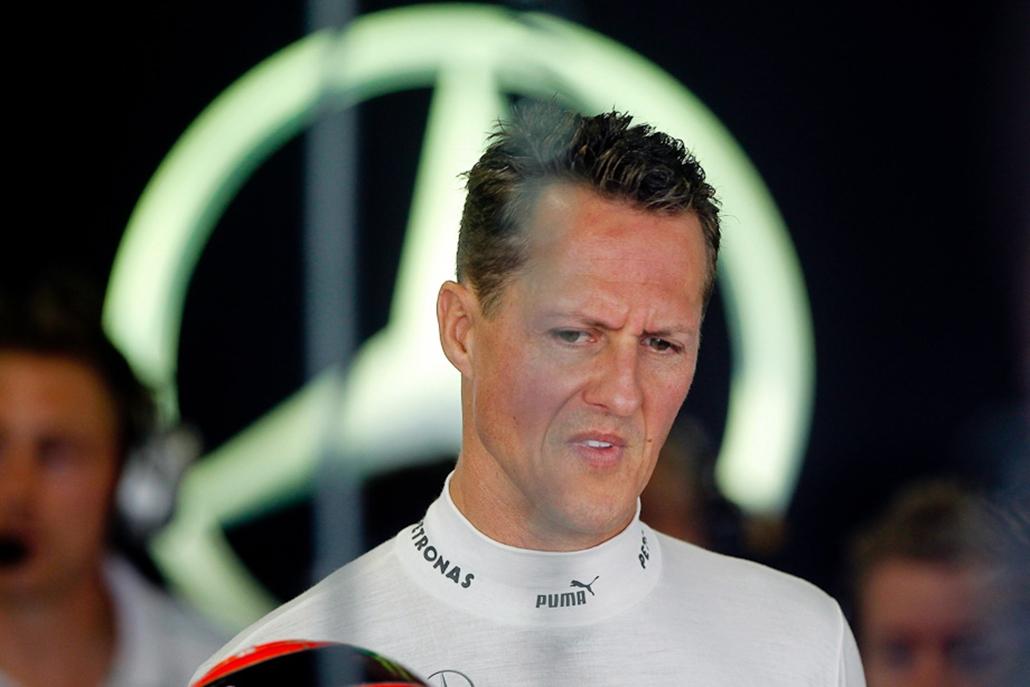 Michael Schumacher, hét képei