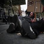A szegénység nem bűn: tüntettek az utcán élők büntetése ellen