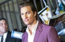 Matthew McConaughey maszkokat fuvarozott a kórházaknak