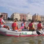 Raftingoljuk végig Budapestet