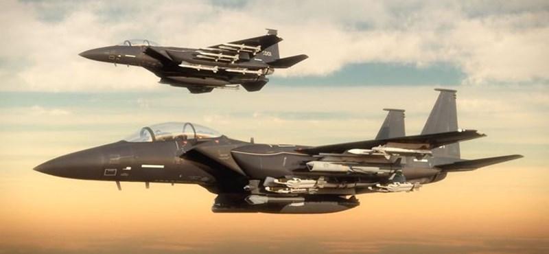 Balesetet szenvedett két amerikai katonai repülő, heten eltűntek