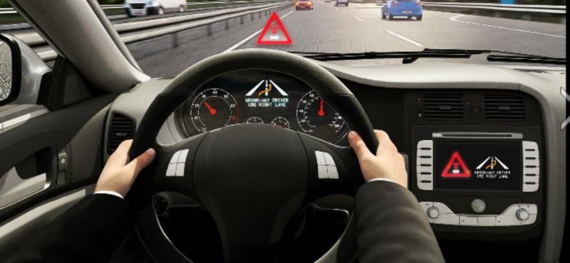 A Bosch kitalált valamit az autópályára szemből felhajtók figyelmeztetésére