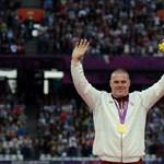 Fotók: Pars Krisztián átvette az aranyérmét