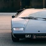 Időgép 1974-be: szuperritka periszkópos Lamborghinit kínálnak eladásra