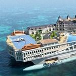 300 millió euróba kerülne az úszó Monaco