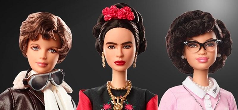Híres nőkről mintázta új babáit a Barbie