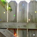Az üveggolyót, mint kerítésdíszt, megkaphatod