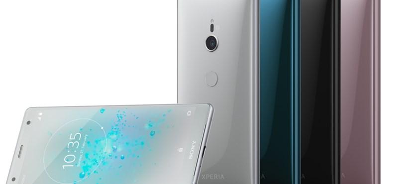 Itt az új Xperia: minden kép és videó kicsit szebb lesz, ha az új Sony telefonról nézzük