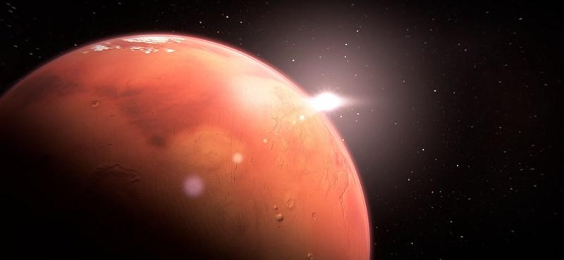 A Marson még hamarabb is lehetett élet, mint a Földön
