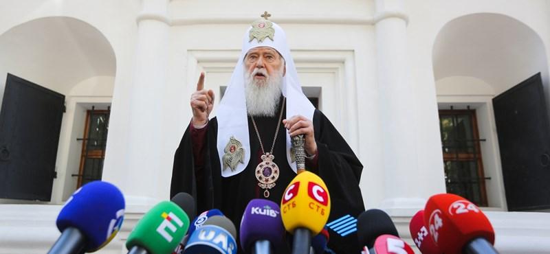 Megfertőződött az ukrán főpap, aki szerint a koronavírus a melegházasságok miatt terjed