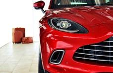 70 milliótól indul itthon az Aston Martin szabadidő-autója – beleültünk
