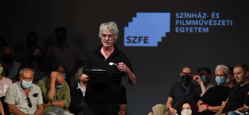 Upor László: Nem igaz, hogy az SZFE előző vezetése veszélyeztette a hallgatók diplomáját
