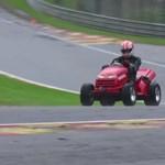 Monteiro a Honda ördögi fűnyírójával hangolt a Hungaroringre