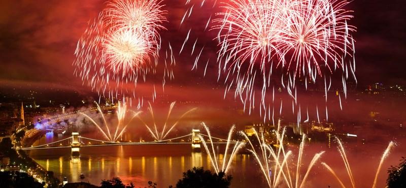 Zseniális videón a tűzijáték legszebb pillanatai és Budapest szépsége