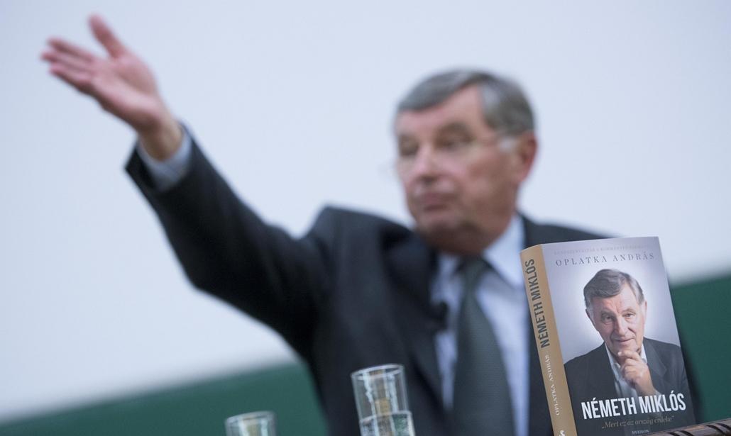 faz.14.11.19. - Németh Miklós - ''Mert ez az ország érdeke'' című könyv bemutatja az ELTE BTK Gólyavár Nagytermében