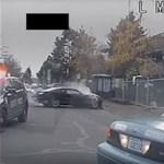 Autós üldözésben nem ismernek tréfát az amerikai rendőrök – videó