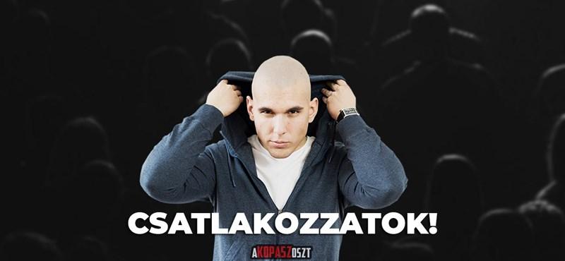 1,6 millió forintból hirdeti az A kopasz oszt nevű kormánypárti Facebook-oldal posztját a Megafon