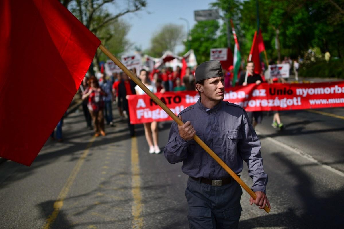 Fotó: A Munkáspárt már hangol a munka ünnepére