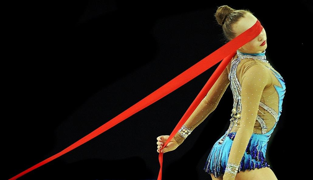 afp. év sportfotói - Glasgow, Egyesült Királyság - A kanadai Patricia Bezzoubenko Nemzetközösségi Játékokon