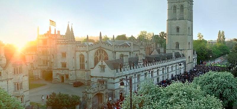 Külföldre menne az Oxfordi Egyetem?