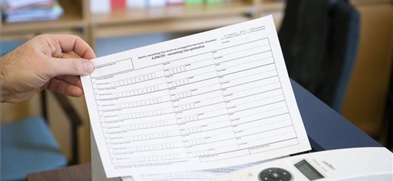 Kezdődhet az aláírásgyűjtés: zaklatás nélkül kell megszerezni az ajánlásokat