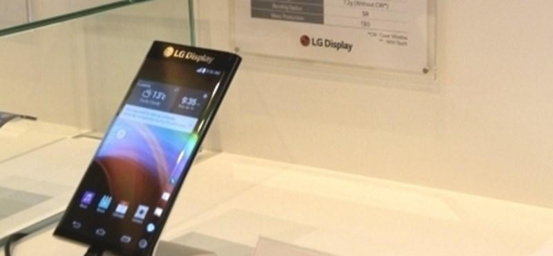 Az LG üzeni a Samsungnak: itt a 3 oldalú kijelző