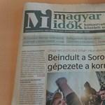 Bíróság: Lehet azt mondani, hogy a Magyar Idők lopott pénzből működik