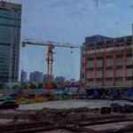 Kacsalábon forgó iskola - így helyeztek át 85 éves épületet Sanghajban