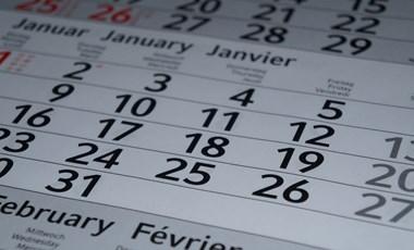 Ezek lesznek a legfontosabb dátumok áprilisban