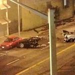Ennél durvább baleset még nem történt Teslával - fotók