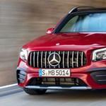 7 üléses sportterepjáróként érkezett meg a Mercedes-AMG GLB 35