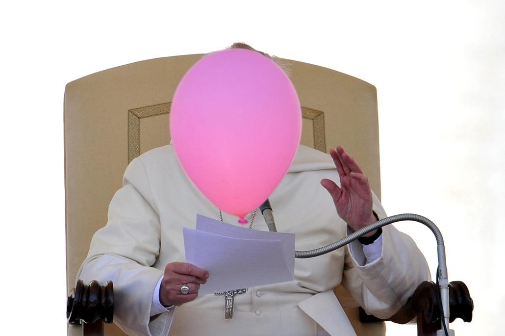 afp.14.05..14. - Vatikán: Ferenc Pápa