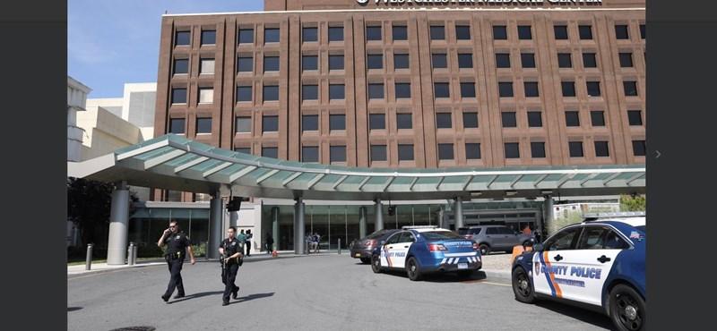 Lövöldözés volt, kiürítettek egy New York-i kórházat