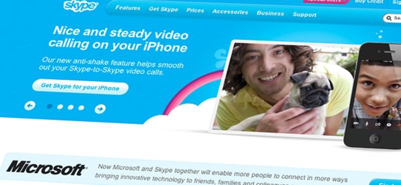 Hogy teljesít a Skype?