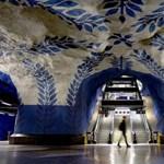Elvarázsolt földalatti világ - A legszínesebb metróállomások
