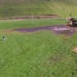 """Kis extra: Hat emelet mély víznyelővel """"gazdagodott"""" egy új-zélandi farm – videó"""