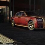 Ki tette ezt ezzel a Rolls-Royce-szal?